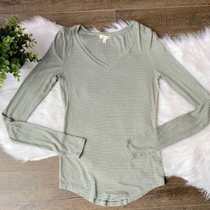 Anthropologie [Pure + Good] striped long sleeve